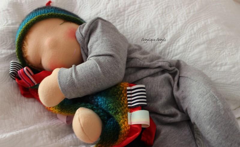 """Ethan, a 19"""" Angelique Nurture Baby"""