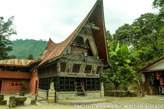 Indonesia - Medan - Samosir - Tomok - Batak traditional museum