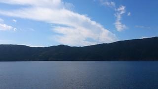 海賊船からの芦ノ湖