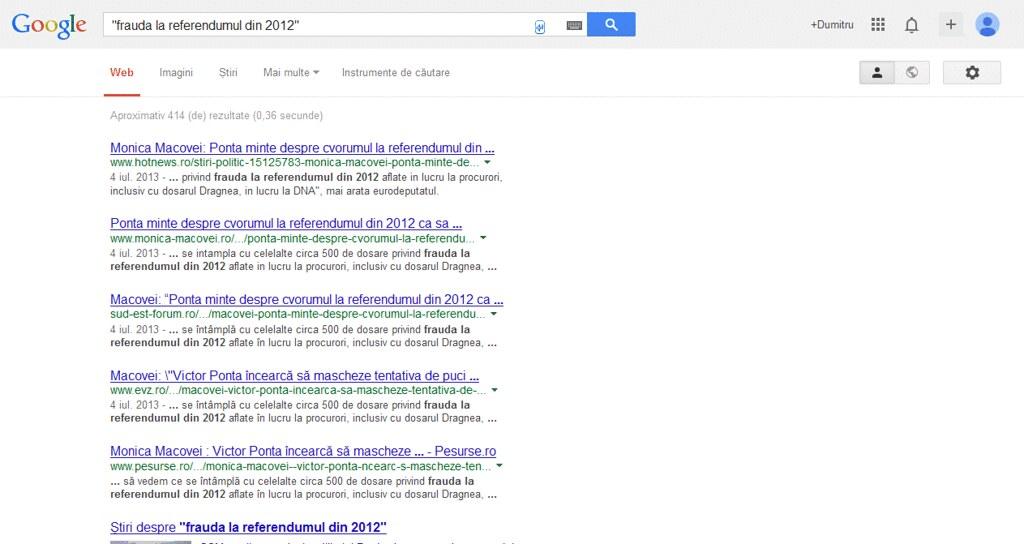 Cum căutăm eficient pe Google (I)