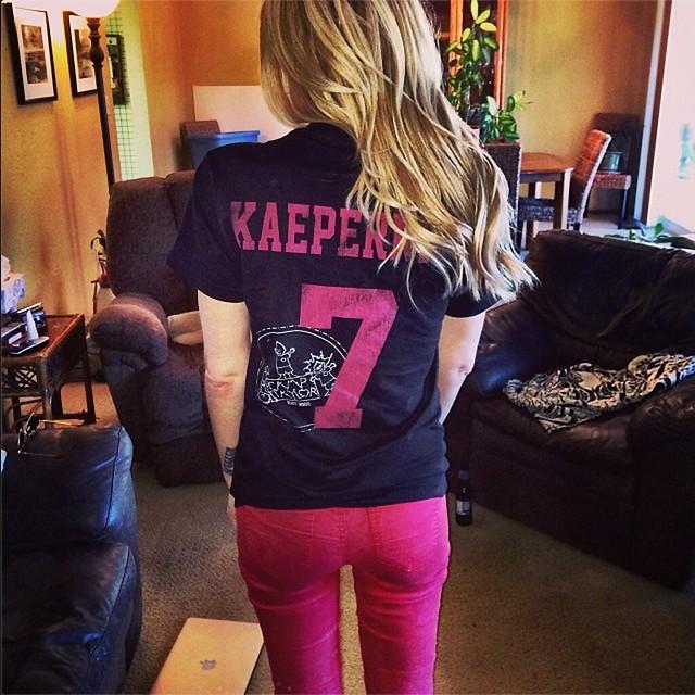 Camp Taylor Colin Kaepernick Sportiqe T-Shirt