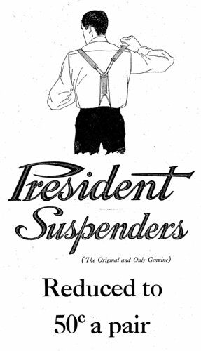President Suspenders by dok1