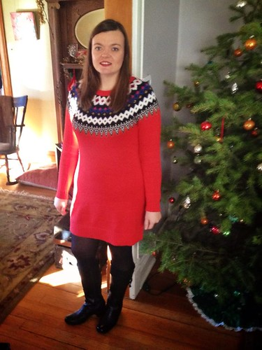 Christmas Dress from Mom & Dad