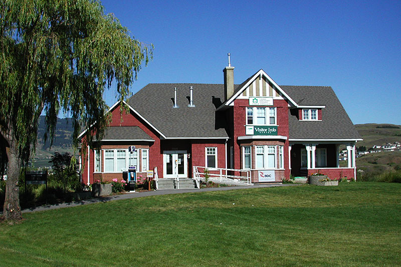 Vernon Visitor Centre, Vernon, North Okanagan Valley, British Columbia, Canada