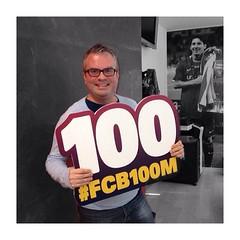 We are #FCB100M! FC Barcelona surpasses 100 million followers on social networks #fcblive
