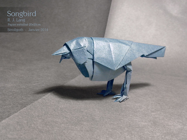 In Second The Scorpion By Robert JLang Origami Insects Vol2