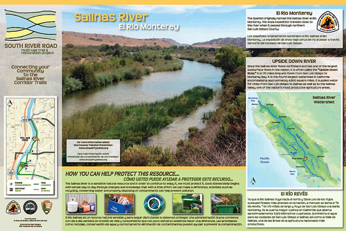 Paso Robles Anza Trail Wayside: Salinas River