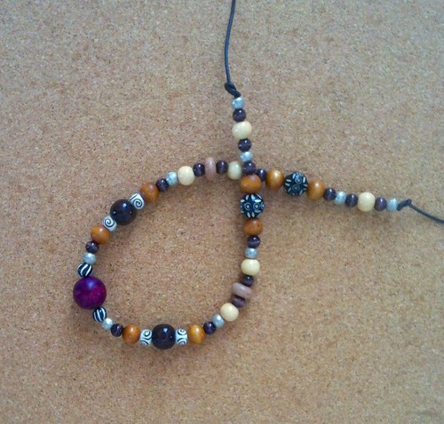 Plum Nuts (Necklace in Progress as of Mar. 5, 2014) by randubnick