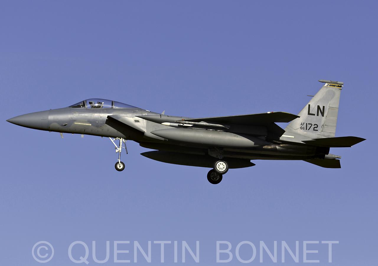 USAF McDonnell Douglas F-15C Eagle LN 86-172