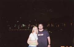 Will & Britt at Al Kout mall in Kuwait-May 2005