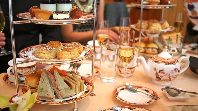 Afternoon Tea Service | Xi Shi Lounge @ Shangri-La Hotel Vancouver