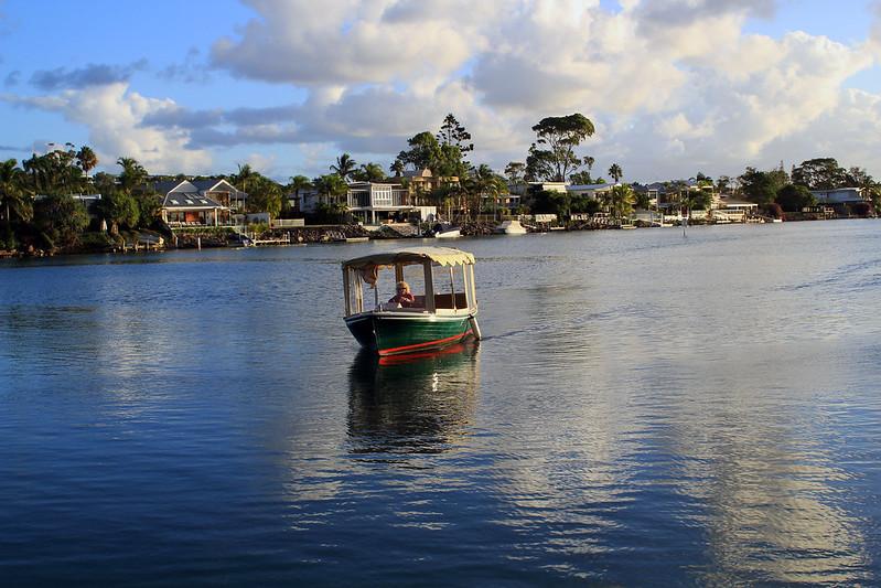 Noosa boat