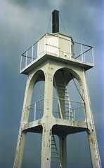 observation tower, tower,
