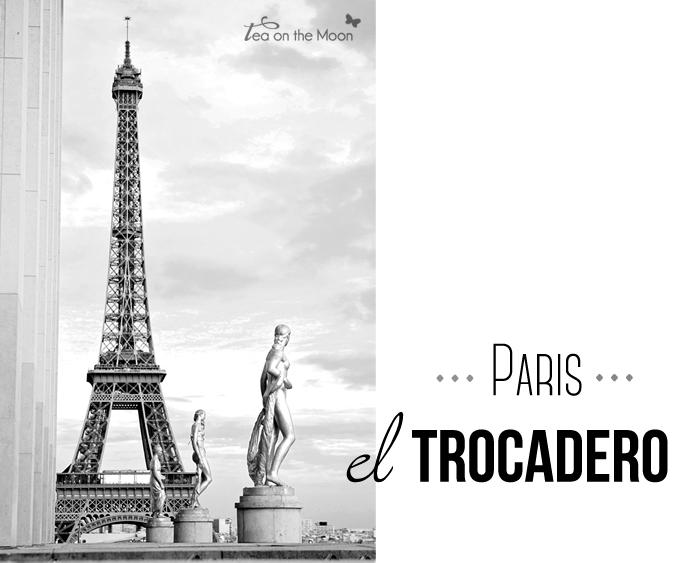 El trocadero Paris torre eiffel