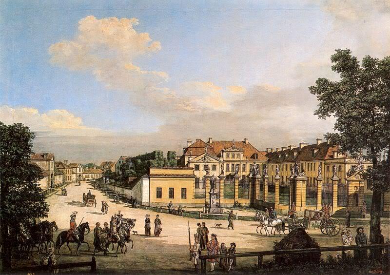十八世纪华沙风景画11