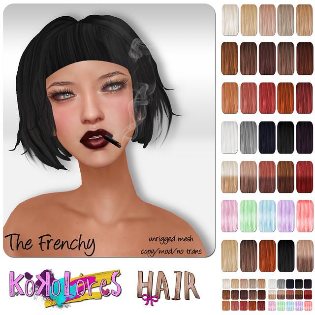 [KoKoLoReS] Hair - Frenchy