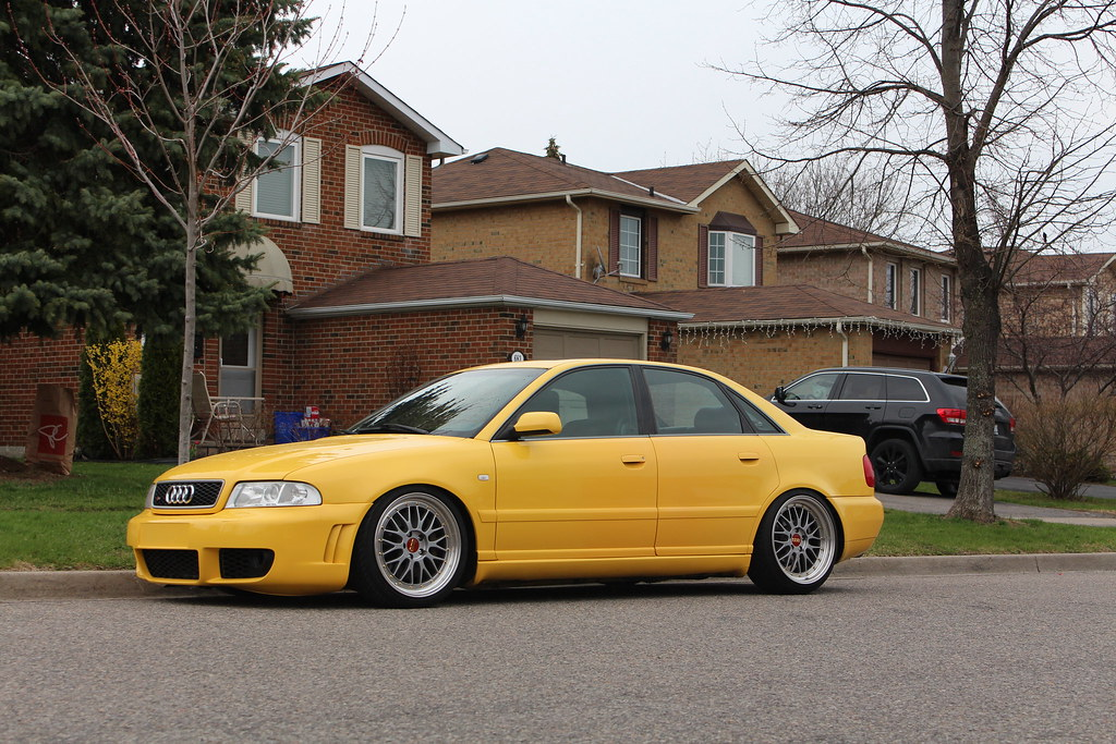 For Sale Audi S Imola Yellow Stage - 2000 audi s4