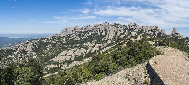 Panorámica Montserrat