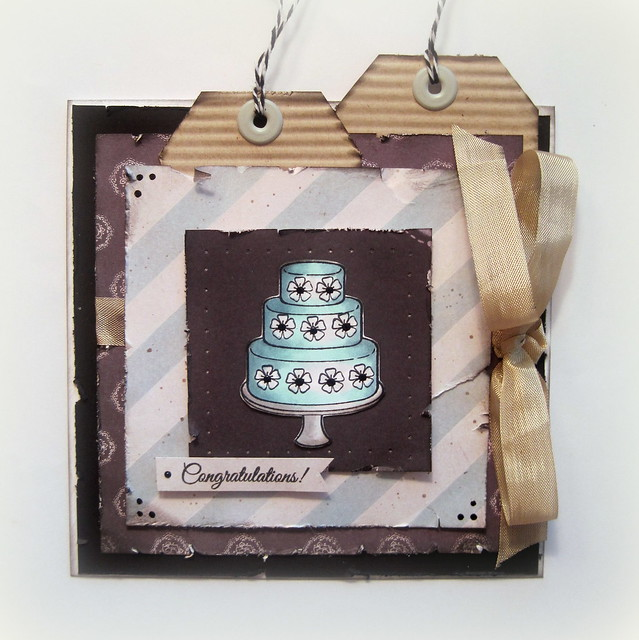 TRC Cake Congrats Card - DDR