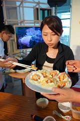 看起來十分美味的生菜蜜蜂酥(圖片來源:台灣科學教育館)