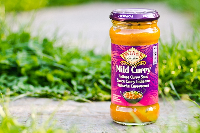 Pataks, Bild Curry, Indische Currysauce, Degustabox