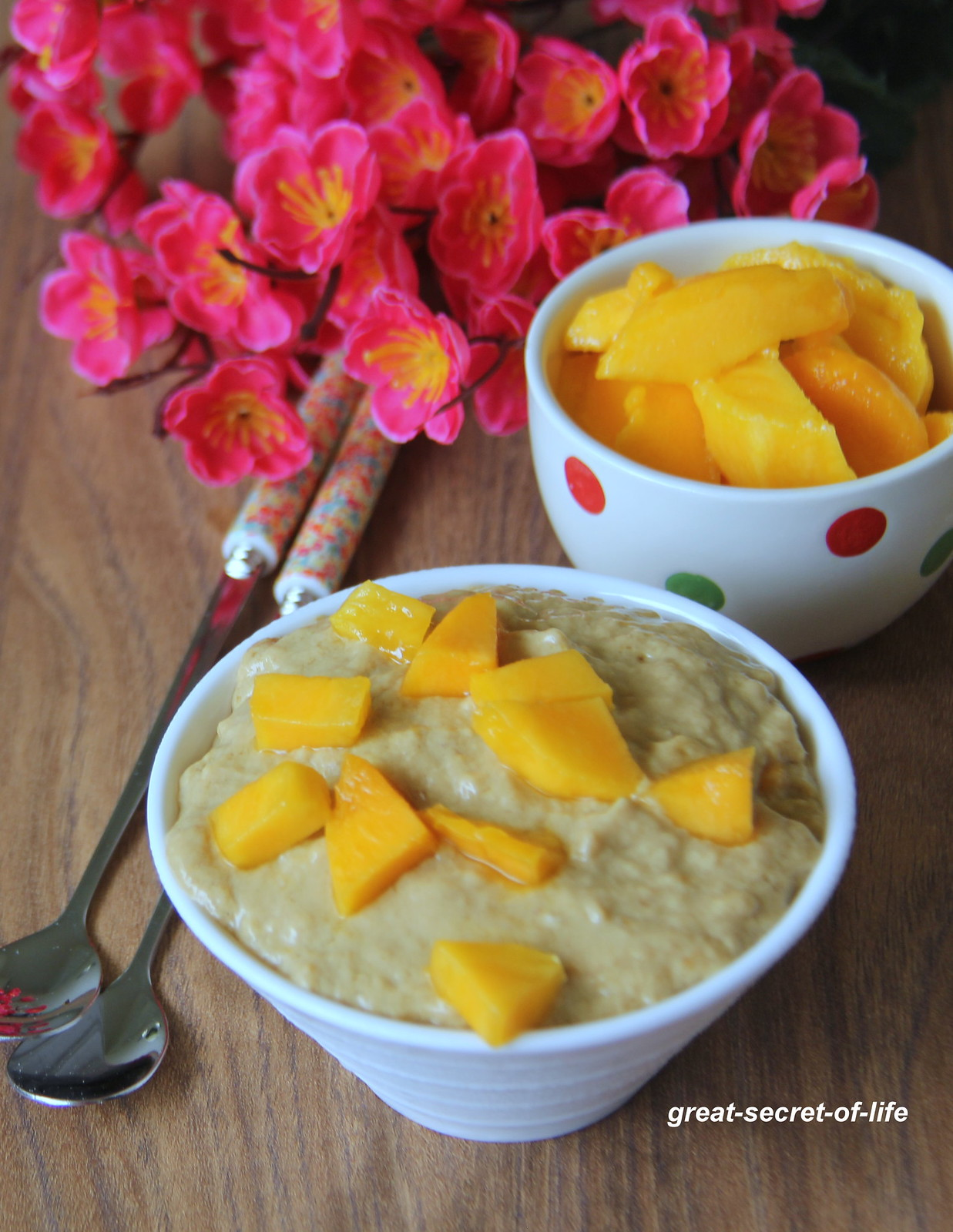 Mango Tofu Pudding - Healthy Dessert recipe - Simple dessert with Tofu - Best Dessert recipe