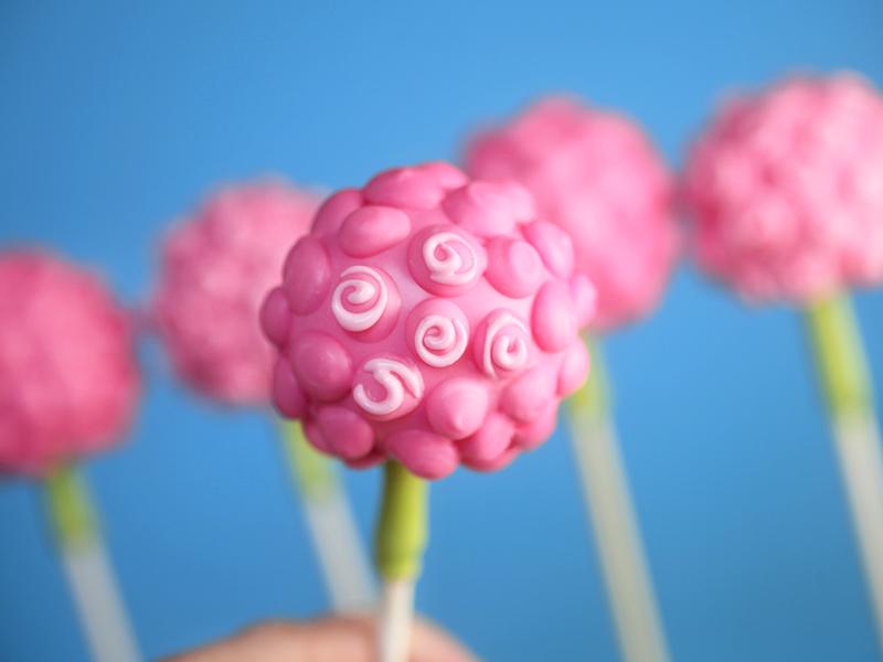Flower Bouquet Cake Pops – bakerella.com