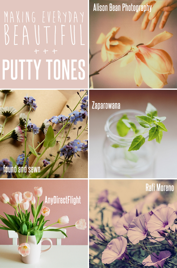 making everyday beautiful : putty tones | Emma Lamb