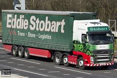 Volvo FH 6x2 Tractor - PX11 BXR - Molly Casey - Eddie Stobart - M1 J10 Luton - Steven Gray - IMG_7685