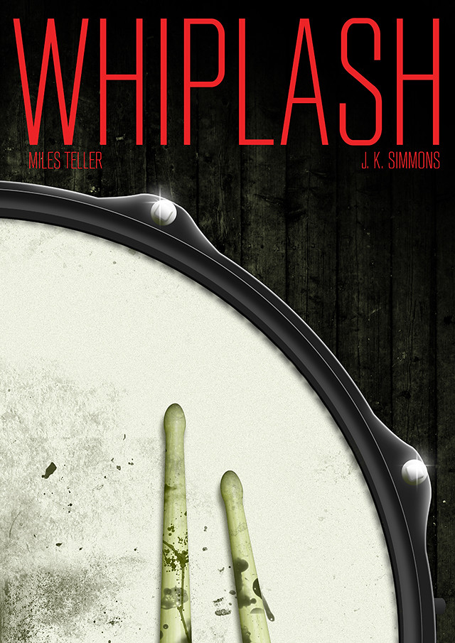 Whiplash poster design