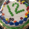 The #12thman #Skittles cake