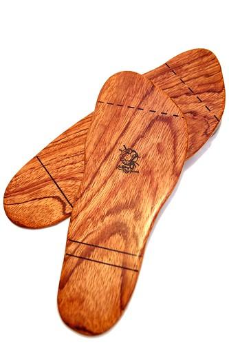 Wooden Feet
