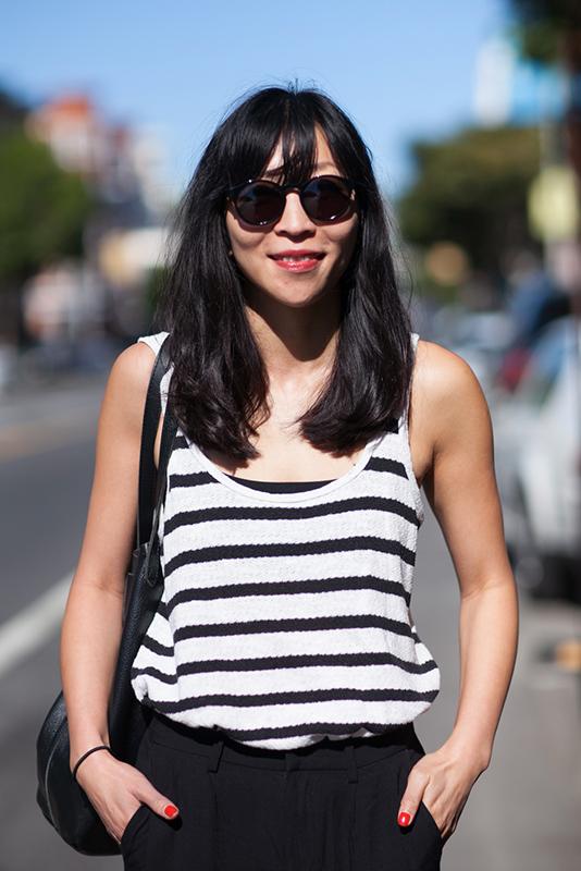 mon_closeup street style, street fashion, women, Valencia Street, San Francisco