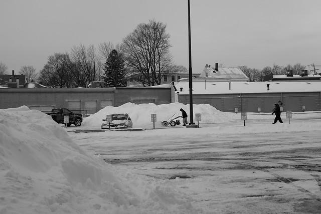 snow work
