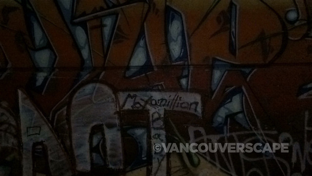 Vancouver graffiti/light off