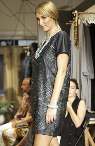 Digital print dress by Elk