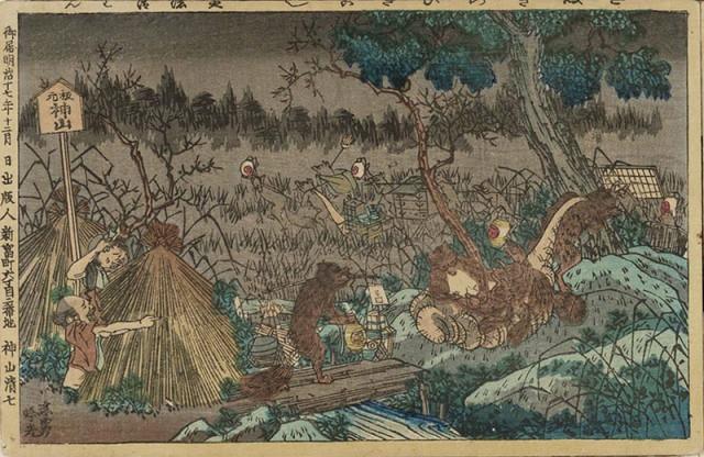 Tanuki - Chồn Nhật Bản