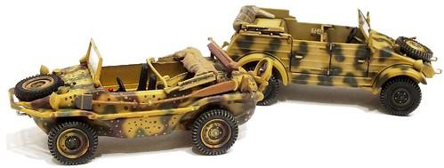 Schuco VW Typ 166 & 82