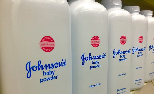 Johnson's Baby Powder, Talc