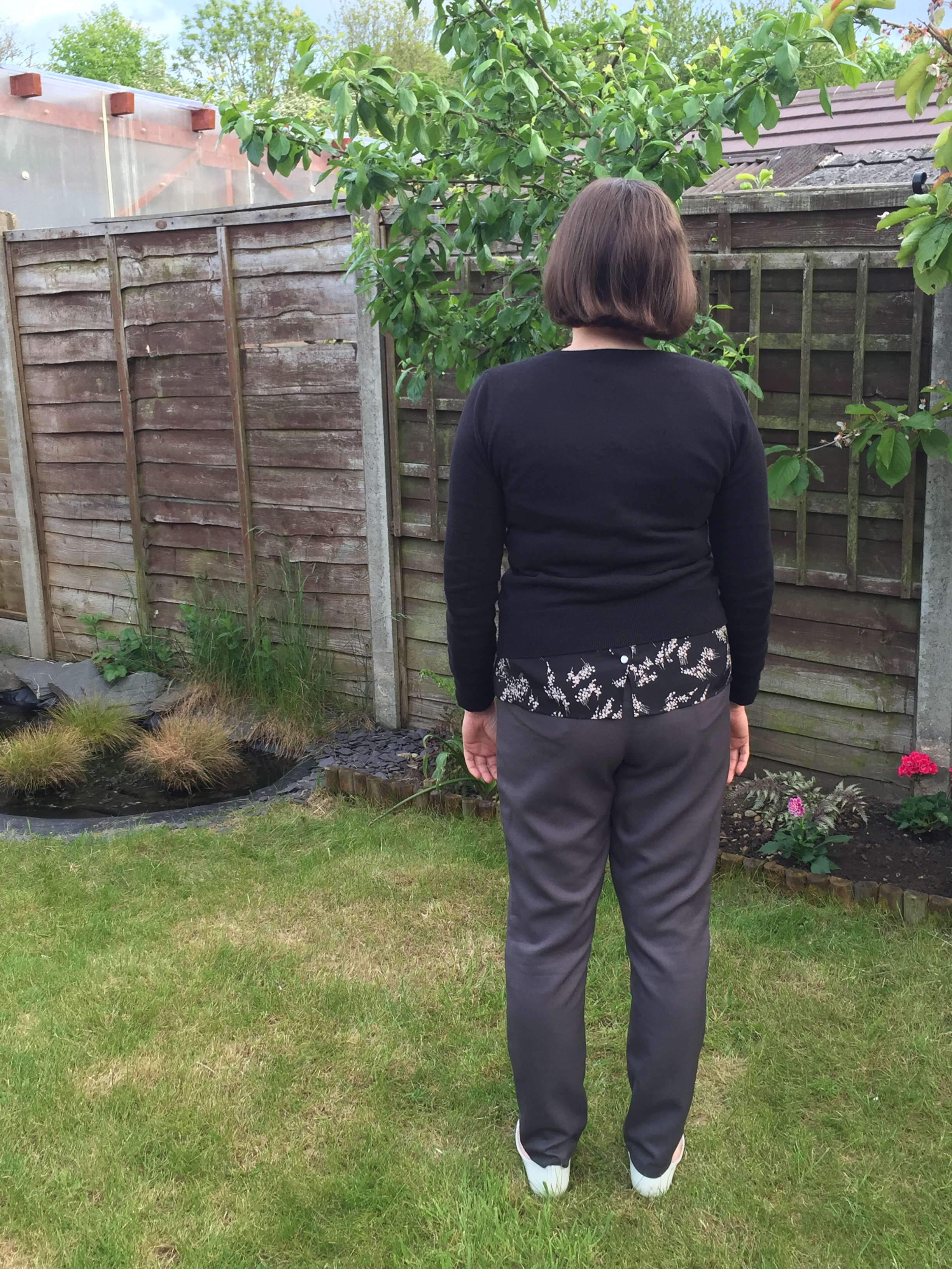 Self drafted trousers 3