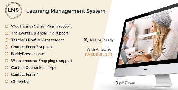 LMS v4.7.1 – Learning Management System, Education LMS WordPress Theme