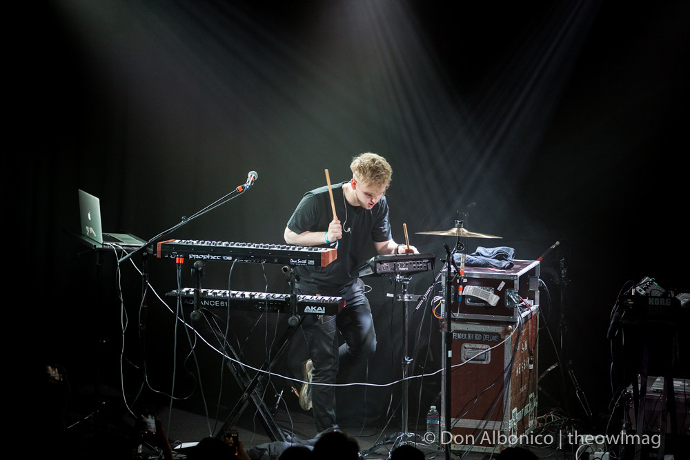Mura Masa @ the Independent, San Francisco 5/13/16