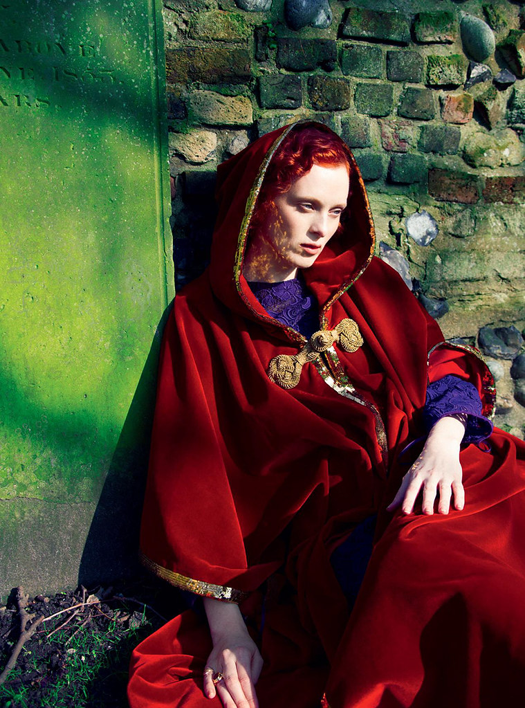 Карен Элсон — Фотосессия для «Harper's Bazaar» UK 2016 – 4