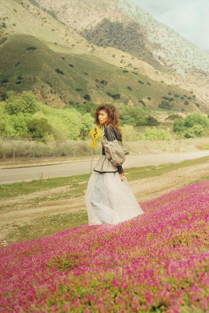Зендая — Фотосессия для «Wonderland» 2016 – 3
