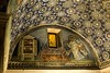 Mosaic in the Tomb (or Oratory) of Galla Placidia. St. Laurence. 5th Century.