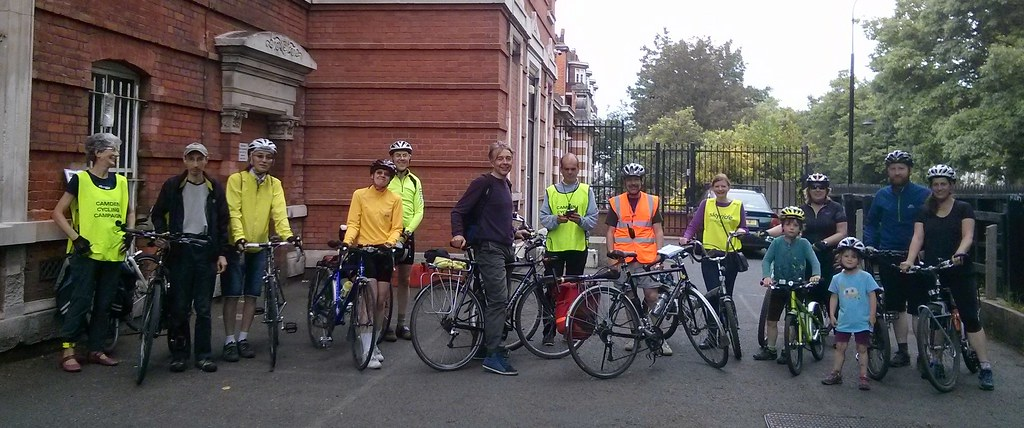 At the finish – Hampstead Old Town Hall