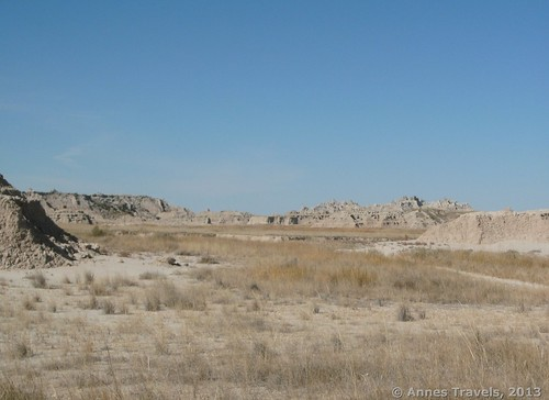 The Castle Trail near Saddle Pass, Badlands National Park, South Dakota