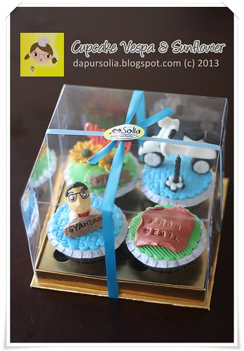 Cupcake Set for Syahdan