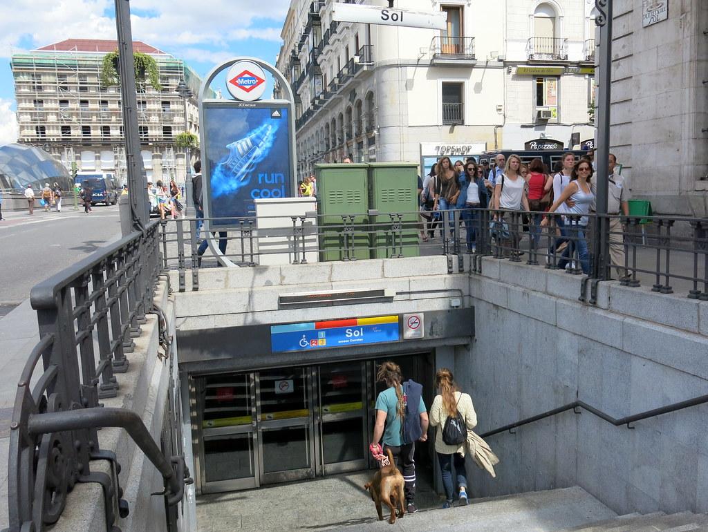 Calles y plaza de Madrid