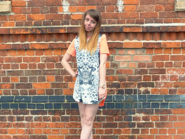 Zalando geometric shift dress